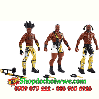 MÔ HÌNH WWE The New Day Elite