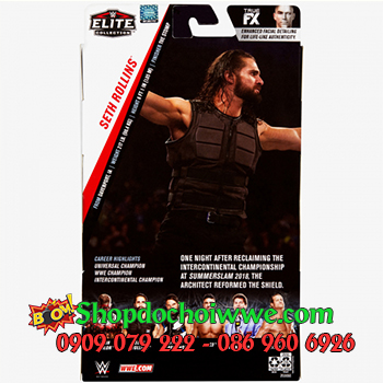 Mô Hình WWE SETH ROLLINS - The Shield Elite 70