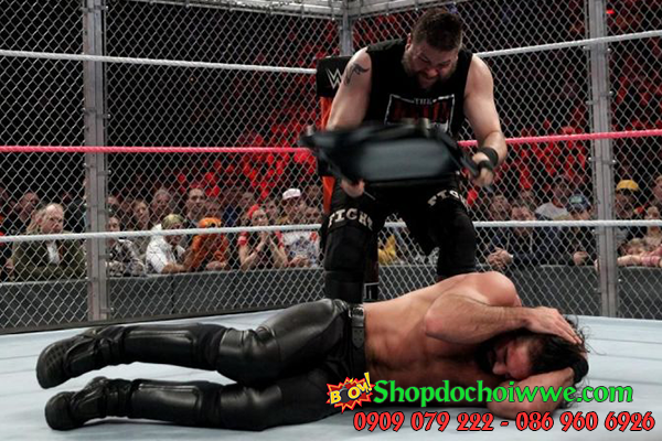 #4 Seth Rollins vs Kevin Owens - Hell in a Cell 2016