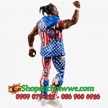 Mô Hình WWE Kofi Kingston Elite 60