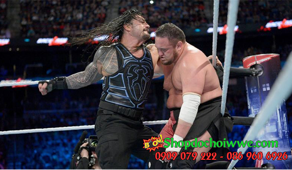 #6 Roman Reigns vs. Samoa Joe (Backlash)