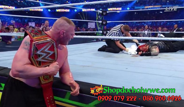 #2 Brock Lesnar vs. Roman Reigns (WrestleMania 34)
