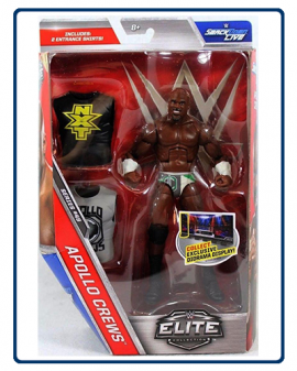 MÔ HÌNH WWE APOLLO CREWS ELITE 49