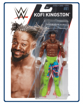 Mô Hình WWE Kofi Kingston Series 81